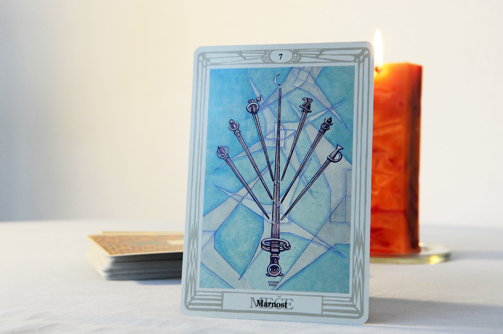 Tarot card Seven of Swords