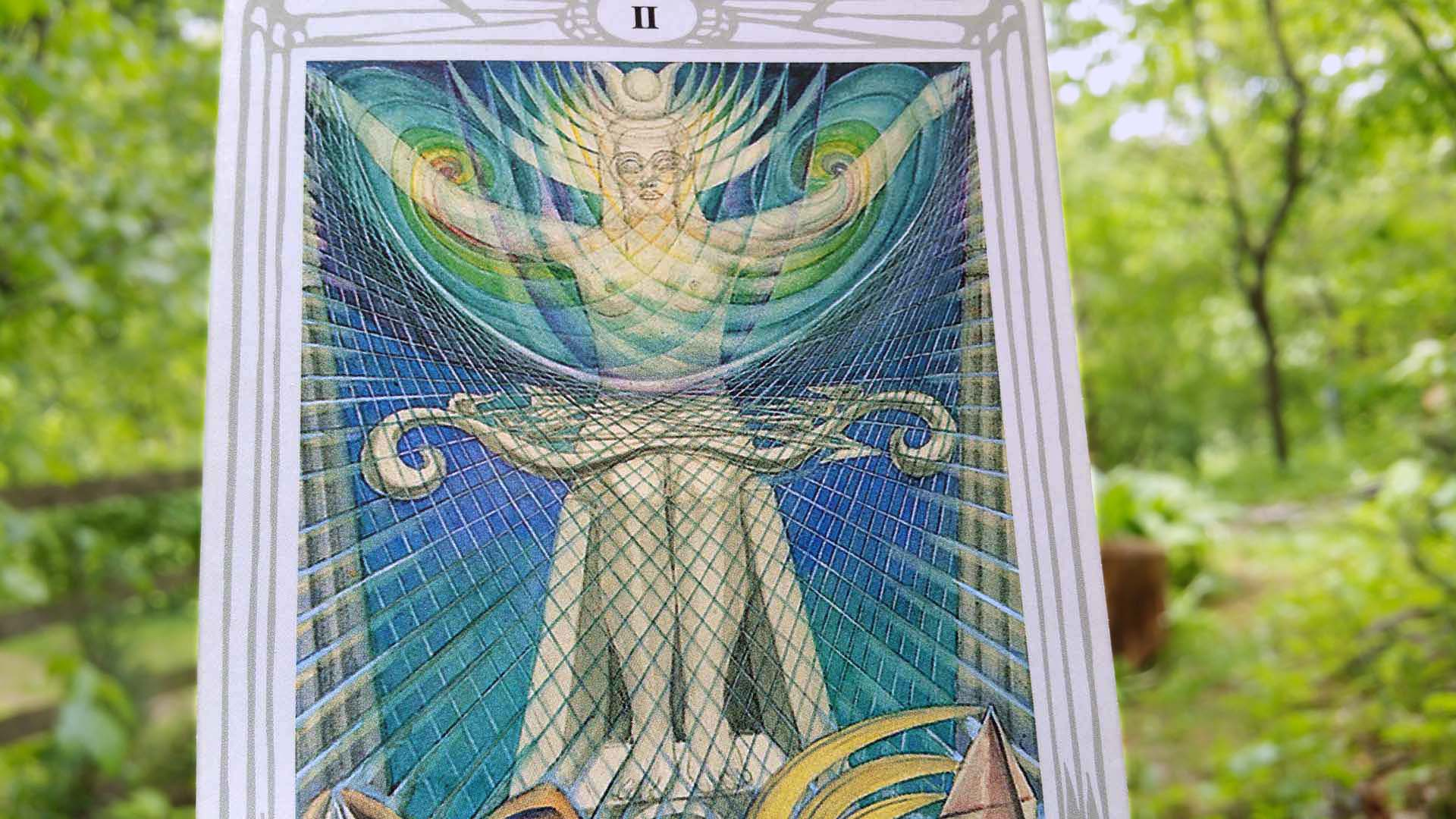 Thoth tarot card The Priestess