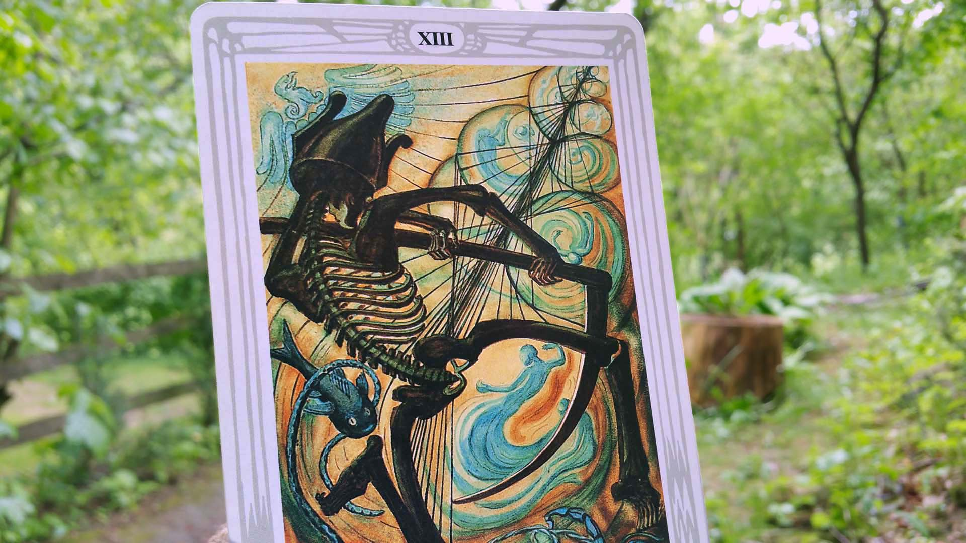 Thoth tarot card Death
