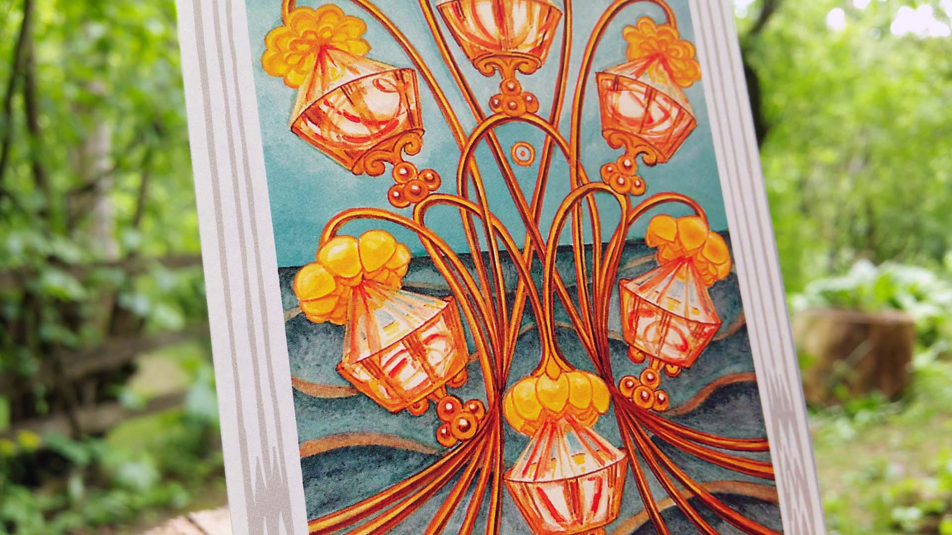 Thoth tarot card Six of Cups